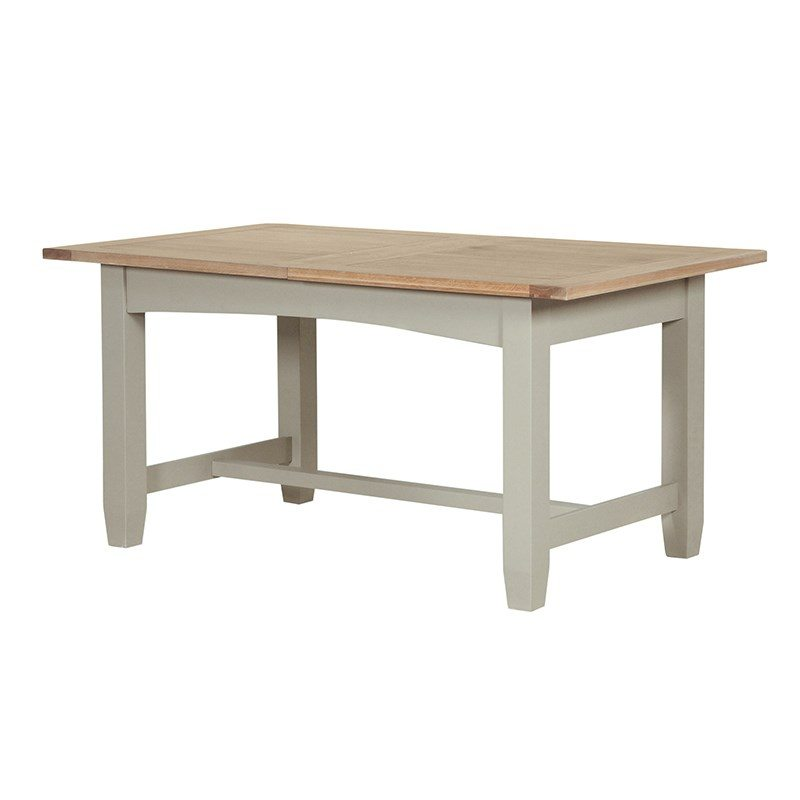 Bailey Wood Rectangular Country Style Dining Table