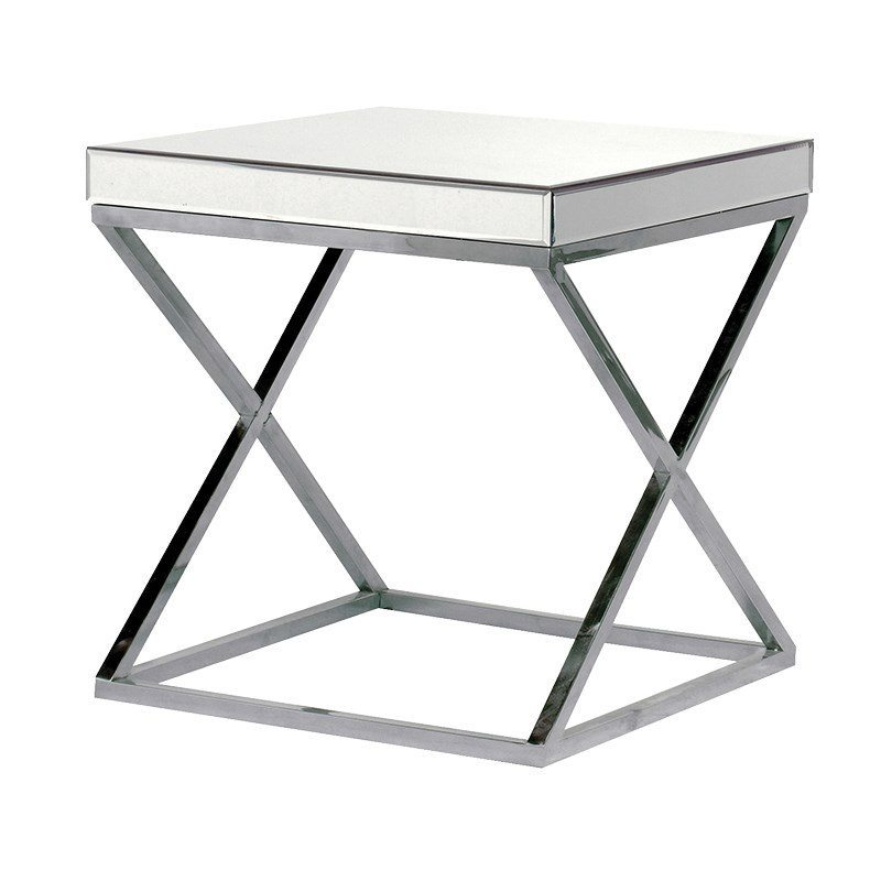 Beatrice Steel Bedside Table