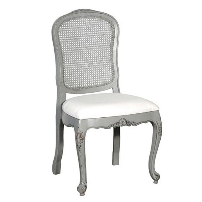 Cipriano White Dining Chair