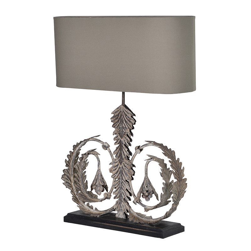Elijah Grey Table Lamp