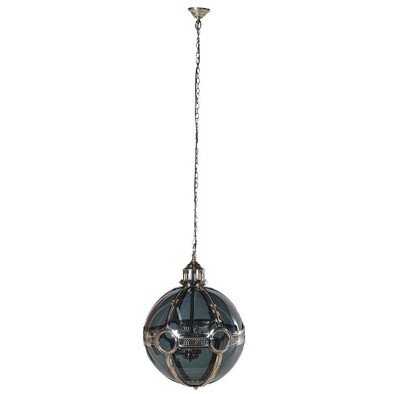 Nickel Glass Ball Pendant