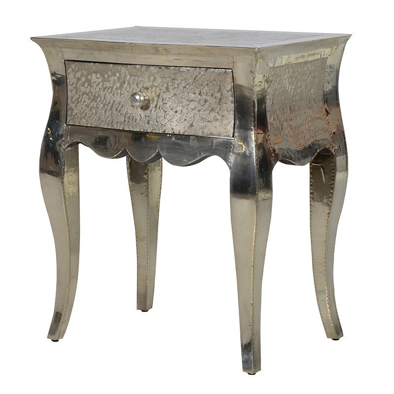 Enrico Mirrored Bedside Table