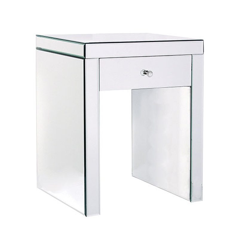 Giovanni Mirrored Side Table