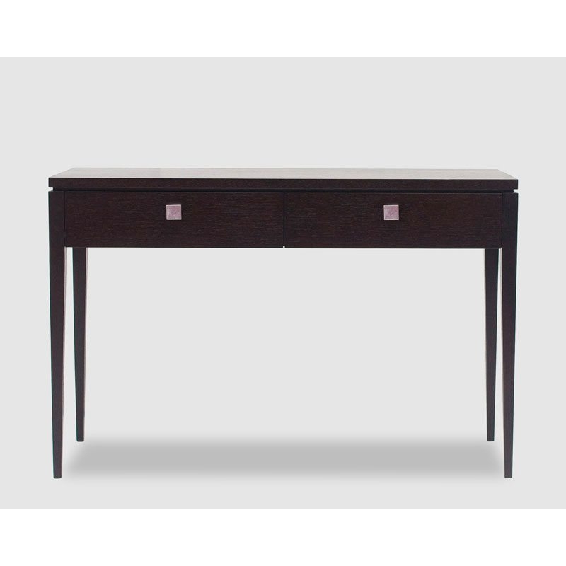 Graziella Black 2 Drawer Console Table