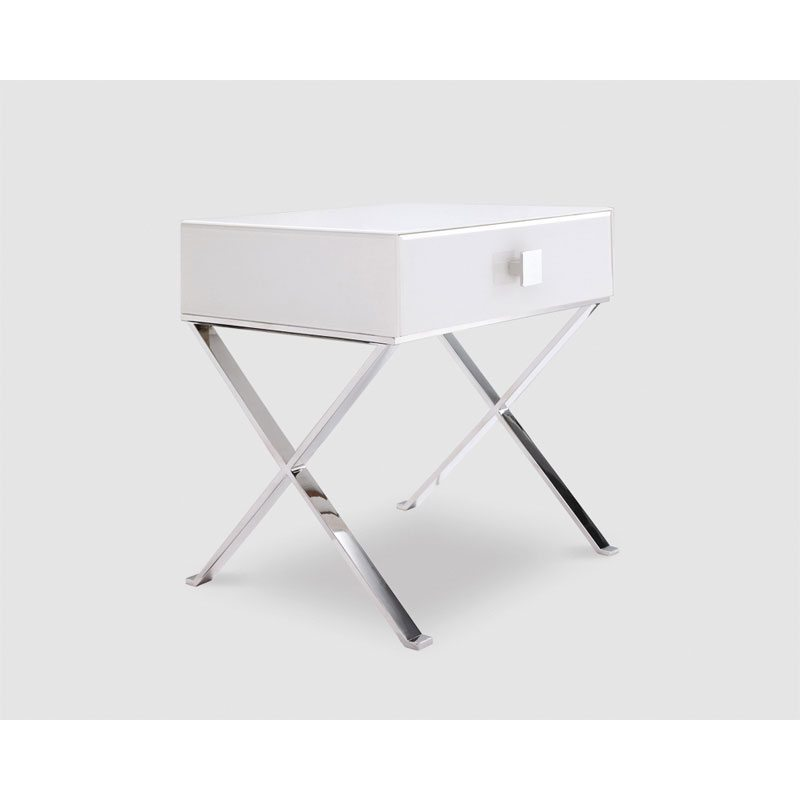 Gualtiero White Side Table