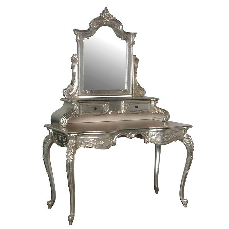 Jasmine Dressing Table With Mirror