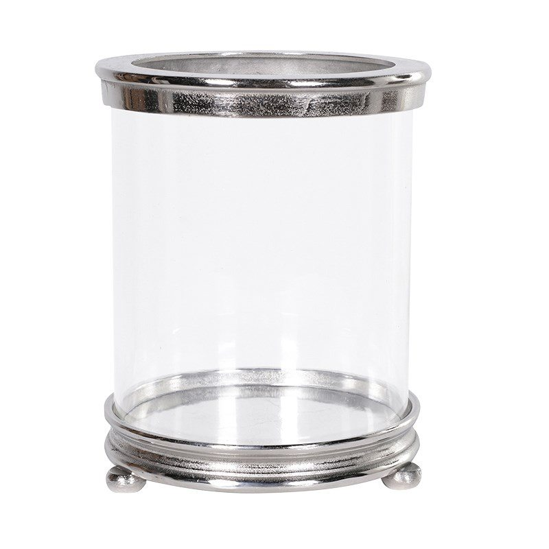 Kennedy Glass Hurricane Candle Holder
