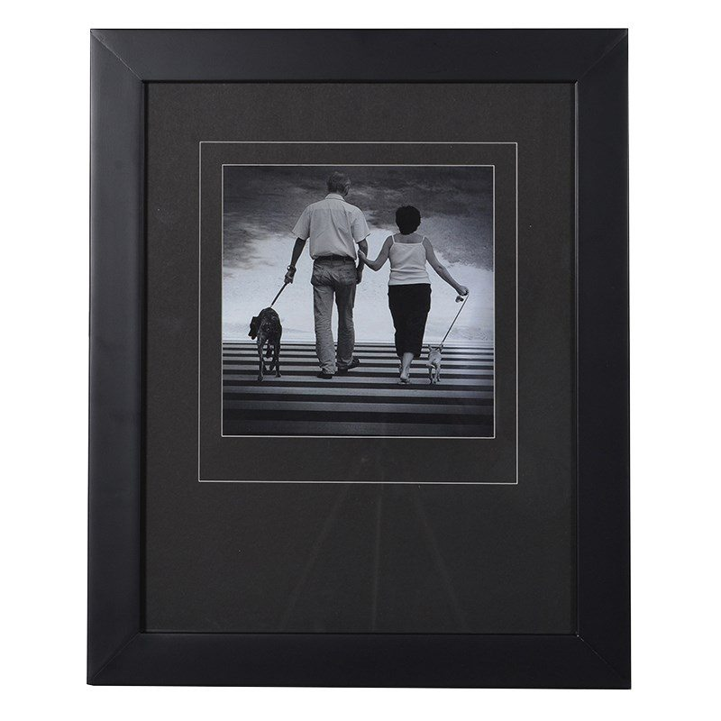 Mason Black Mat Photo Frame