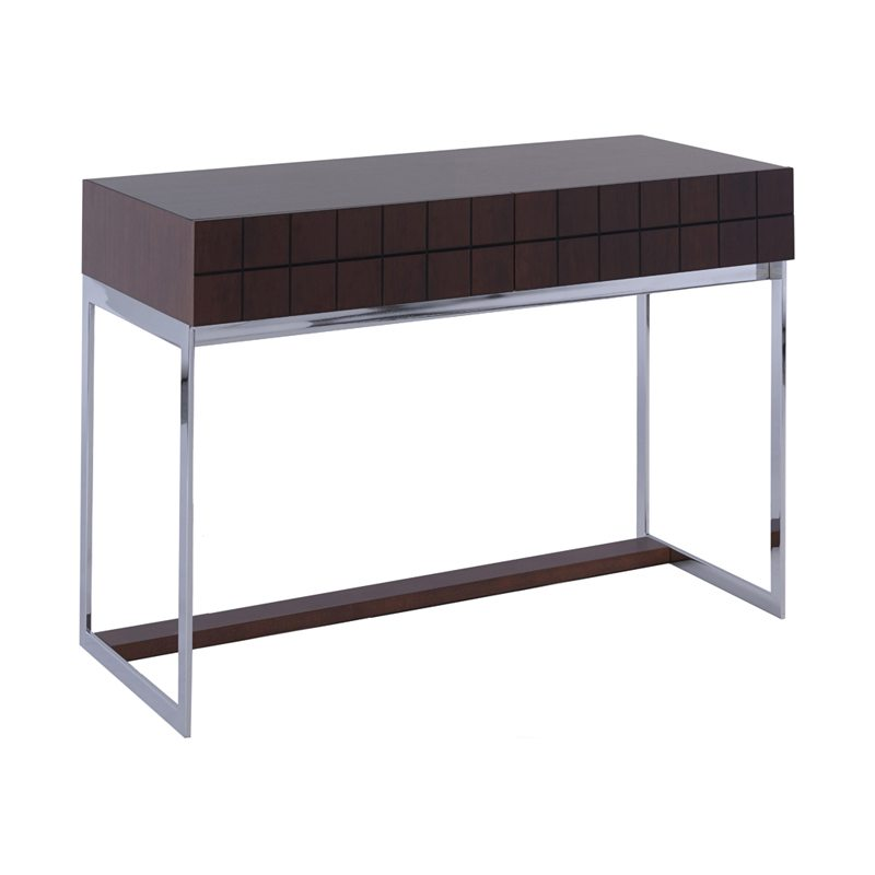 Orsa Walnut Console Table