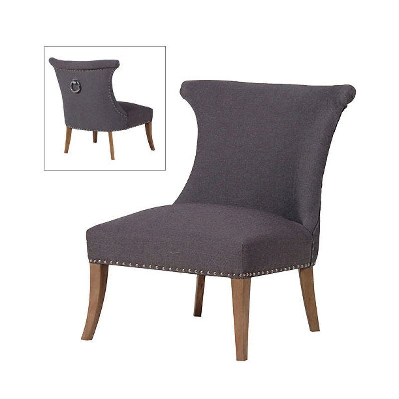 Scirocco Grey Fabric Dining Chair