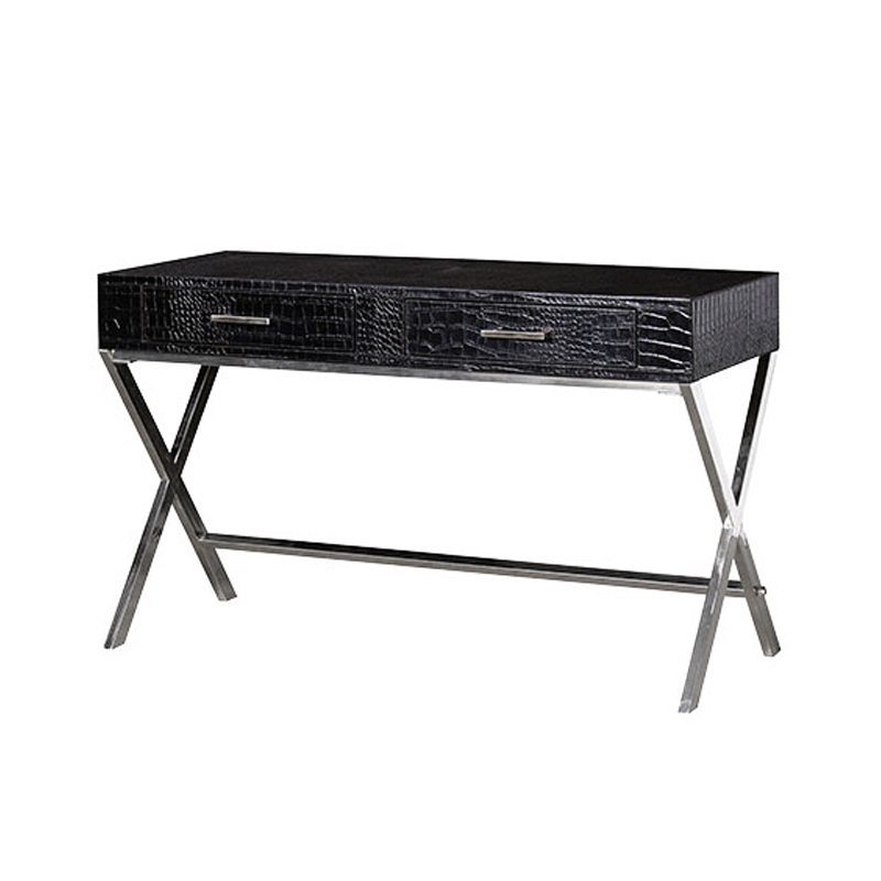 Verona Faux Leather Console Table
