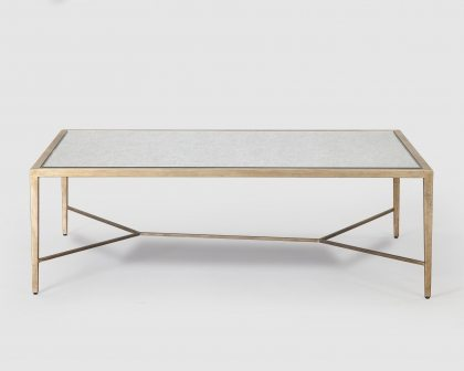 Isabetta Antique Silver Coffee Table