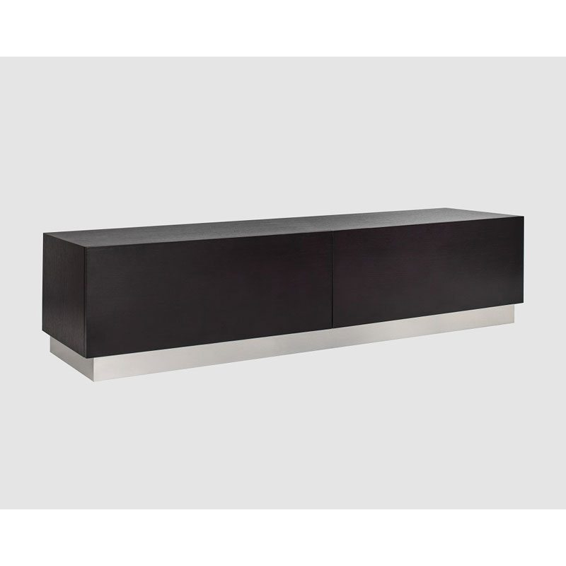 Italo Black and White Sideboard