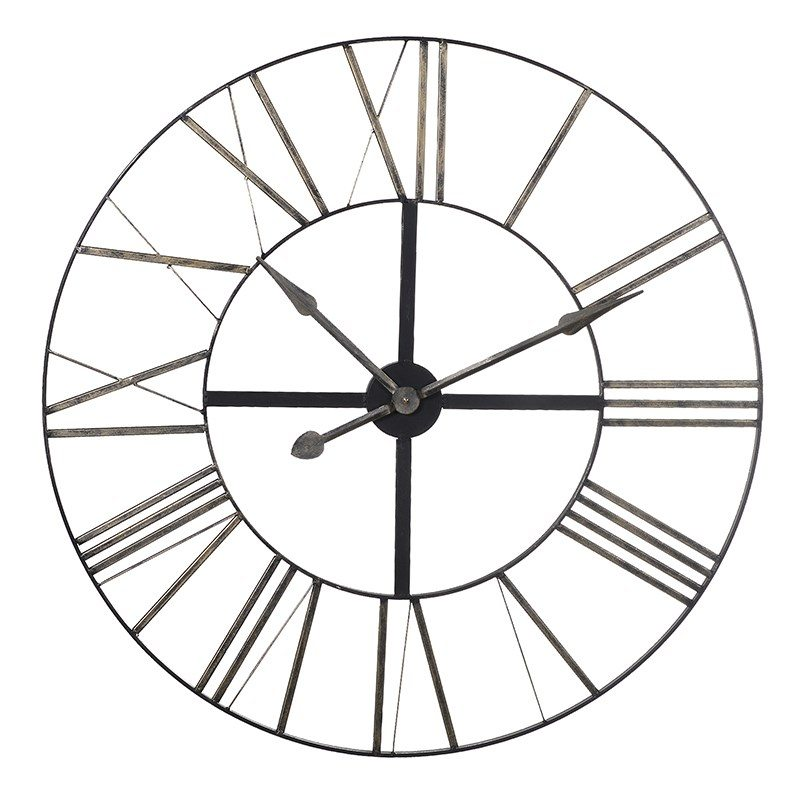 Marco Metal Roman Numeral wall Clock