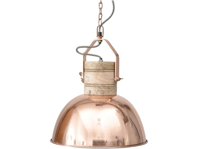 Amalia big Rose Copper Pendant light