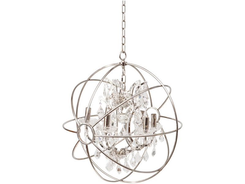 Crystal Globe Chandelier