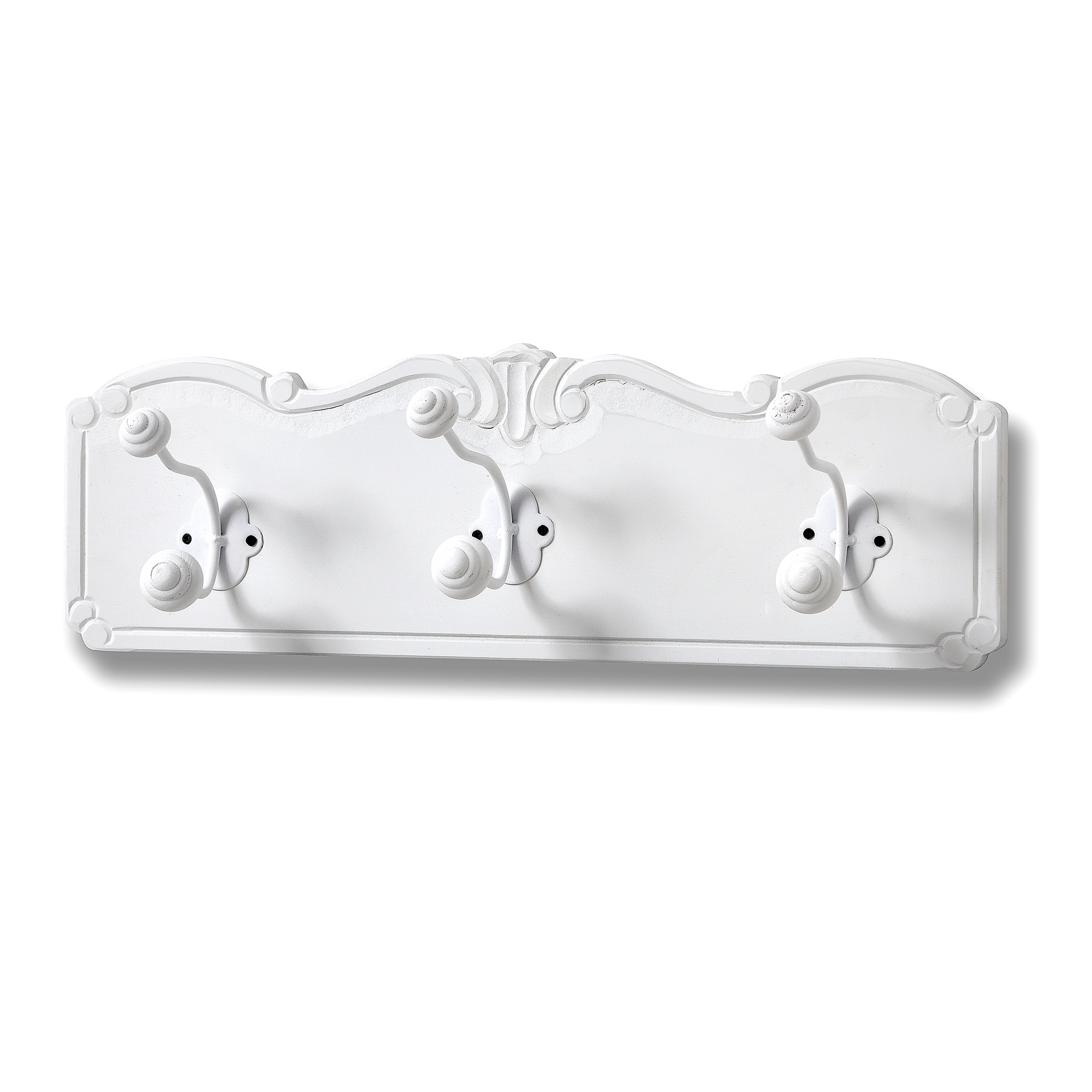 Florence Wall Mounted 3 Hook Coat Hanger